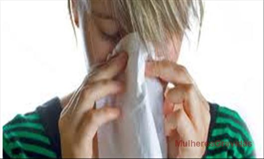 Congestão nasal na gravidez