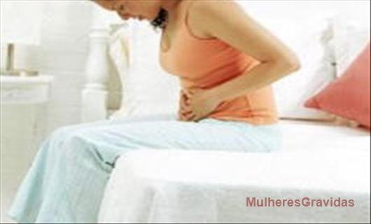 Gases e inchaços na gravidez