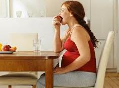 comer maça na gravidez