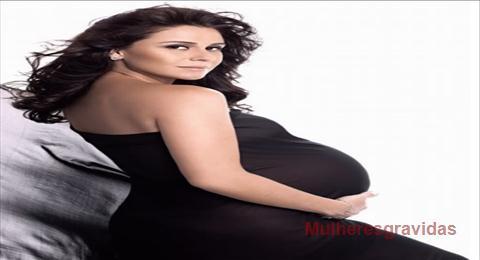 Giovanna Antonelli grávida de Gêmeas