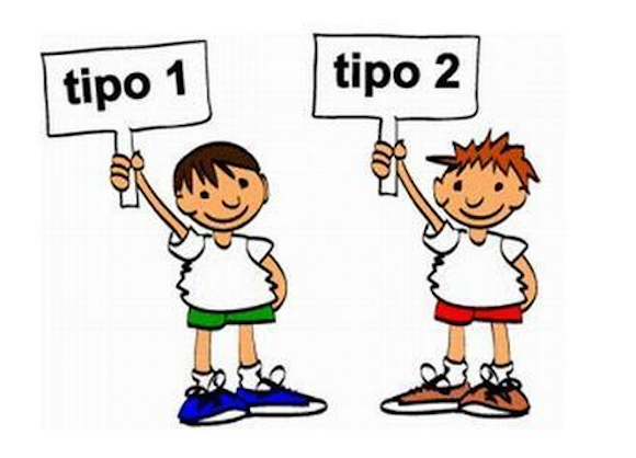 diabete infantil 1 e tipo 2