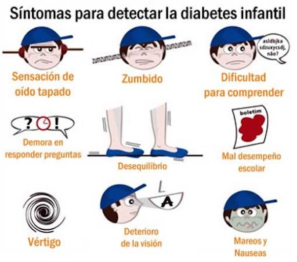 sintomas diabete infantil