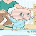 primeiros passos do bebê