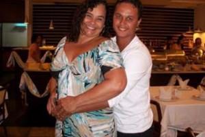Solange Couto 54 anos grávida do marido Jamerson Andrade