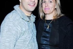 Evaristo Costa e sua mulher nasce sua filha
