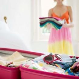Preparar malas dos filhos para férias